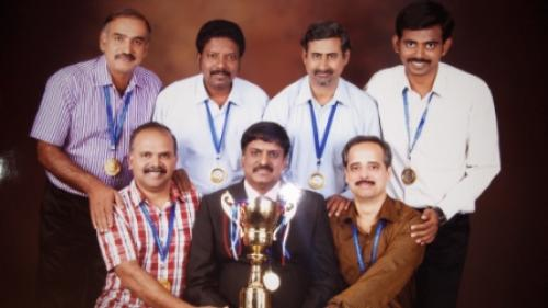 Winners of All India Civil Services Team Event - Chess Tournament